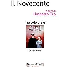 Il Novecento, letteratura
