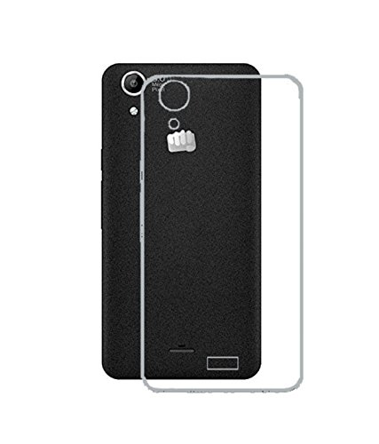 Ultra Thin 0.3mm Clear Transparent Flexible Soft TPU Slim Back Case Cover for Micromax Canvas Selfie Lens Q345  available at amazon for Rs.109