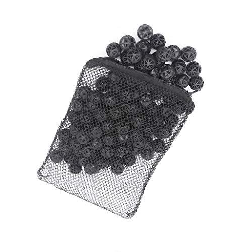 boxtech Filter Bälle aus Keramik, biologisches Medium, für Aquarium-/Teichfilter, im Beutel -