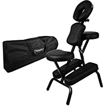 Naipo Massagestuhl Tattoostuhl Massagestühle zusammenklappbarer transportabler inkl. Tasche belastbar bis 300 kg