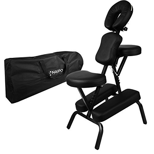 Naipo Chaise de Massage Shiatsu Siège Ergonomique Masseur Assis...