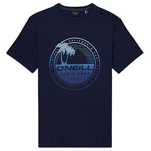 O'Neill Herren Lm Palm Island Hemd, Tintenblau, XL