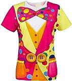 Cosavorock Damen Clown Kostüm T-Shirts (L)