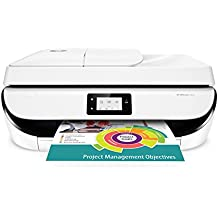HP Officejet 5232 Imprimante Multifonction jet d'encre couleur (10 ppm, 4800 x 1200 ppp, Wifi, USB, Fax, Instant Ink)