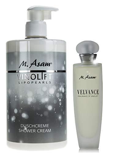 M. Asam® Vinolift Duschcreme 750ml + Velvance Fragrance of Vinolift EdP 100ml