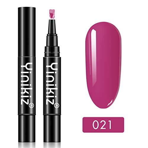 Für Kostüm Anfänger Herstellung - Nagellack, Neueste 3 in 1 Gel Nagellackstift Flash Bright Gloss One Step Nagelgel 18 Farbe Watopi