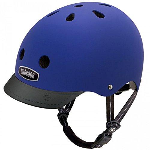 Nutcase Supersolid Street Helm, Blau,M (56-60 CM)