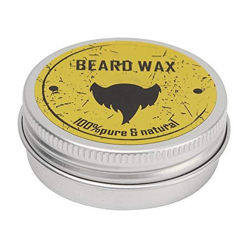 Bartpflege Wachs für Männer Schnurrbart Pflege Wachstum Conditioner Balm Deep Moisturizing Nourishing Softener Cream 30ml - Heilende Feuchtigkeitsspendende Balsam