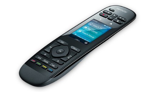 Logitech Harmony Ultimate Touchscreen-Fernbedienung für Home Entertainment, schwarz