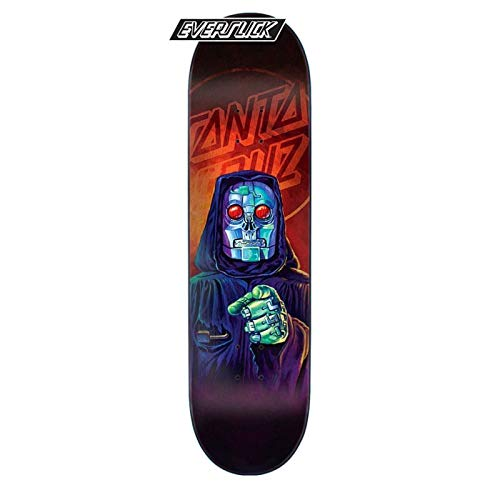 Santa Cruz Skateboard Deck The Worst Robot Reaper Everslick - 8 inch Multi (Default, Arancio)
