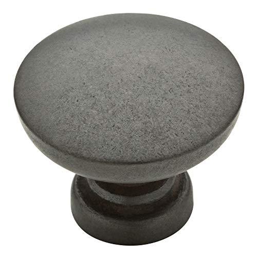 Liberty Nickel-knöpfe (Franklin Knauf, Messing, flach, rund, gebürstetes Nickel Aged Iron)