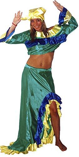 el carnaval Karneval Kostüm Brasilien Damen Erwachsene Größe XL (Brasilien Karneval Kostüm)