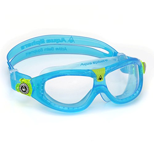 Aqua Sphere Seal Kid 2 - Occhialini da Nuoto, Lenti Transparenti