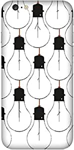 Bulb Printed Back Cover Case For Apple-iPhone 6