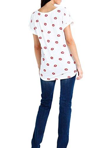 T- Shirt Vila Vimy Bianco