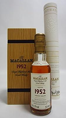 Macallan - Fine & Rare Miniature - 1952 49 year old