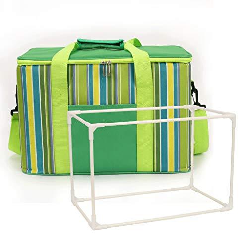 Bier Chilling Bag zusammenklappbarer Incubator 2 Aluminium Familienreise Picknick-Grill-Griff - Eine Vielzahl von Farben erhältlich, 30L faltbare Picknick-Korb Stapel orotund Außerhalb Partei Picknick -