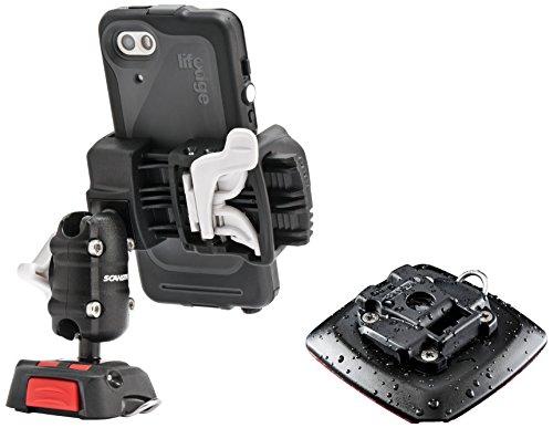 ScanStrut SCROKK03 Handyhalterung, schwarz/rot/weiß, Einheitsgröße -