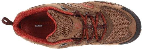 Merrell Azura escursionismo scarpe impermeabili Dark Earth/Red