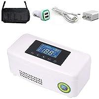 Enfriador de insulina, refrigerador de medicamentos, Enfriador eléctrico Termostato de Caja de Viaje portátil 2-8 Grados con insulina, interferón para los Ojos para el Trabajo de Viaje de Verano
