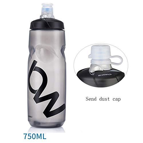 CXYGSJJ Travel Cup Mountain Road Radfahren Radfahren Sport Flasche Squeeze Outdoor Fitness Wasser Cup Isolierung Tragbare Große Kapazität (Color : D) (Große Squeeze Flasche Wasser)