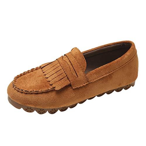 Slipper Damen Mode Freizeitschuhe Quaste Runde Zehe Flache Schuhe Lässige Loafer Sneaker Beiläufige Schuhe Turnschuh Outdoor Flache Sandalen Segelschuhe ABsoar
