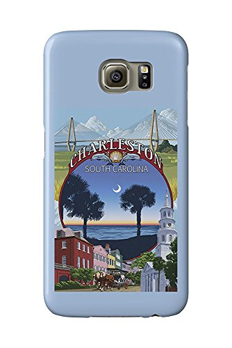 Charleston, South Carolina - Town Views (Galaxy S6 Cell Phone Case, Slim Barely There)