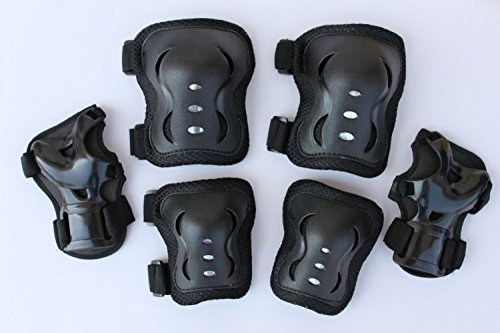 knee-elbow-wrist-protector-guard-pad-gear-for-child-kid-roller-skating-skateboard-cycling-black