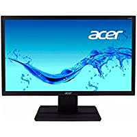 Acer 19.5 inch (49.53 cm) HD LED Monitor - HDMI, VGA Ports and Stereo Speakers - V206HQL (Black)