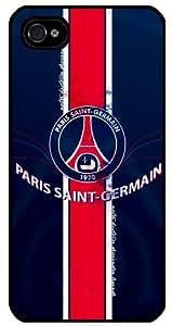 Coque Iphone 4/4S personnalisée PSG Paris-Saint-Germain ref 48