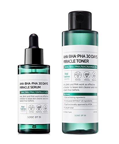 Pore Cleansing Wipes ([Some By Mi] AHA.BHA.PHA 30Days Miracle Toner 150ml + Serum 50ml SET)