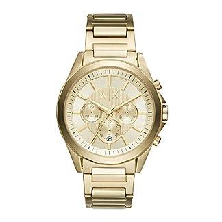 Armani Exchange Drexler Analog Gold Dial Men's Watch – AX2602