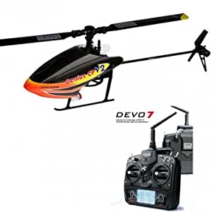 Walkera Genius CP New hélicoptère RC 3D V2 Avec Devo 7 RTF