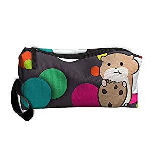 Hamster Makeup Bag/Travel Cosmetic Bag/Brush Pouch Case With Zipper Carry Case