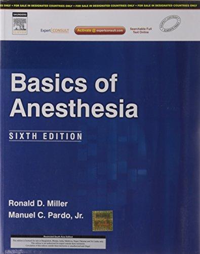 Basics of Anesthesia,11ED