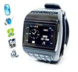 2013 Datum Avatar 1,3-Zoll-Handy-Armbanduhr (Bluetooth, MP3 / MP4-Player, Telefon, Gadget)
