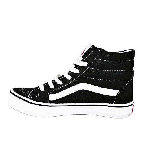 Mr. LQ - Man'S Casual Canvas Shoes high black Sq4n4