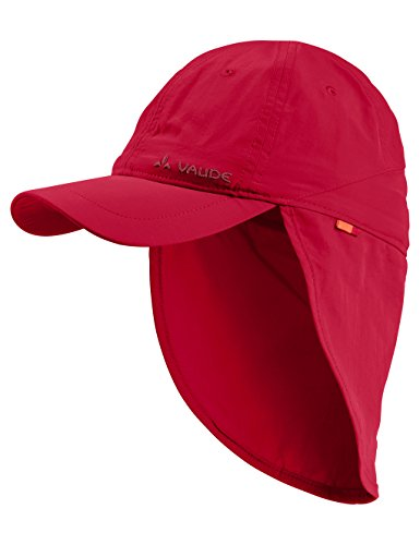 VAUDE Kinder Sahara Cap III Kappe, Indian Red, S