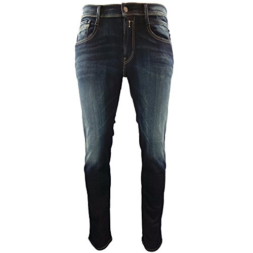 Replay Jeans Blue Blk