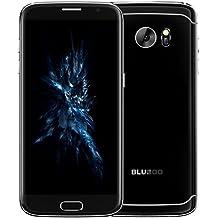 """Bluboo Smartphone libre Android 6.0 4G de 5""""1280x720 HD(Pantalla 5.5"""", Cámara trasera 13 Mp, Quad Core 1.3 GHz, 2GB de RAM, 16GB de ROM, Dual SIM)negro"""