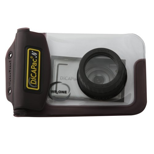 Dgtl-video-kamera (DiCAPac wp-one Punkt & Shoot Digital Camera Waterproof Case)