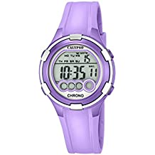 Reloj Digital para Mujer de la Marca Calypso, con Pantalla LCD y Correa de plástico