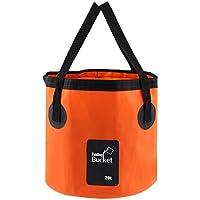 Outdoor Faltschüssel Waschschüssel Multifunktions- Faltbar Eimer Wassereimer Waschbecken Spülbecken für Camping Wandern Picknick 12 L / 20 L
