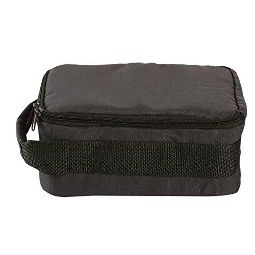 Idiytip Angelrolle Tasche 4-lagig Oxford Tuch Dual Zipper Outdoor Storage Case Container Für Linie Köder Angelhaken Angelgerät Taschen