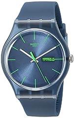 Idea Regalo - Swatch Blue Rebel SUON700 - Orologio da uomo