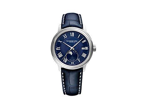 Reloj Automático Raymond Weil Maestro, 40 mm, Día, Fase Lunar, 2239-STC-00509