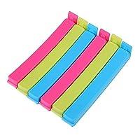 Tallin® 18pcs Home Kitchen Colorful Food Plastic Bag Seal Sealing Clip