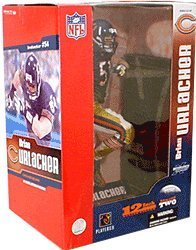McFarlane Toys NFL Sports Picks Deluxe 12 Inch Action Figure Brian Urlacher (Chicago Bears) Blue Jersey -