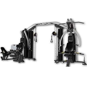 Tunturi Platinum 4-in-1 Strength Station Gym - Black