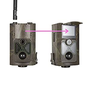 zhenyjab HC-550G Hunting Camera Wild Trap Infrared HD 16MP SMS MMS SMTP GPRS 3G 120 Degrees Hunter Game Trail Forest Wildlife Camera